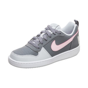 Court Borough Low Sneaker Kinder, grau / pink, zoom bei OUTFITTER Online