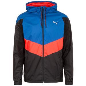Reactive Woven Trainingsjacke Herren, blau / rot, zoom bei OUTFITTER Online