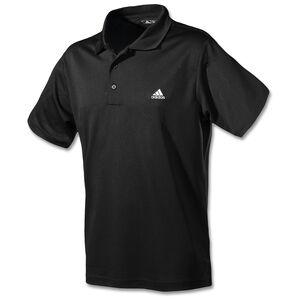 Performance Solid Logo Poloshirt Herren, schwarz, zoom bei OUTFITTER Online