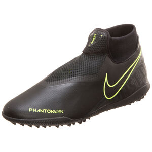 Phantom Vision Academy DF TF Fußballschuh Herren, schwarz / neongelb, zoom bei OUTFITTER Online