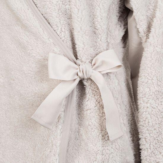 Langarm-Wrap Trainingsjacke Damen, beige, zoom bei OUTFITTER Online