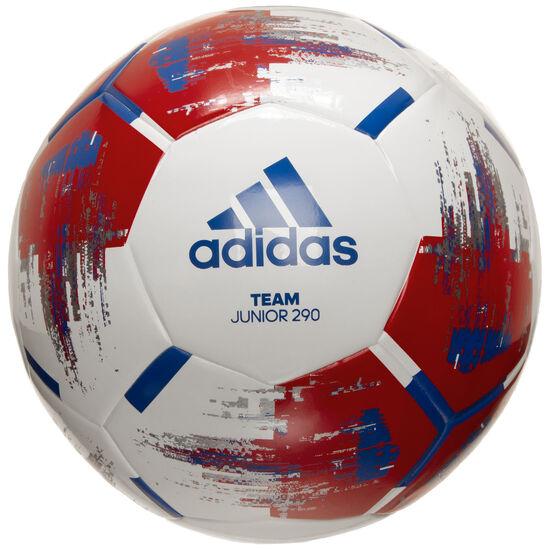 Team Junior 290 Fußball Kinder, weiß / dunkelrot, zoom bei OUTFITTER Online