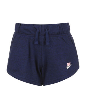 Jersey Shorts Kinder, dunkelblau / rosa, zoom bei OUTFITTER Online