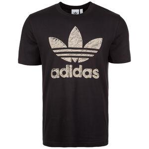 Hand Drawn T1 T-Shirt Herren, schwarz, zoom bei OUTFITTER Online
