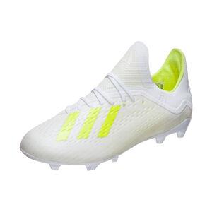 X 18.1 FG Fußballschuh Kinder, weiß / neongelb, zoom bei OUTFITTER Online