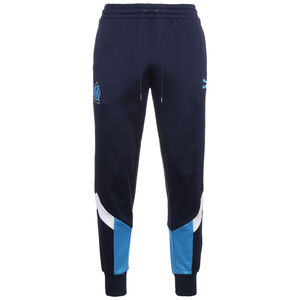 Olympique Marseille Iconic MCS Trainingshose Herren, dunkelblau / weiß, zoom bei OUTFITTER Online