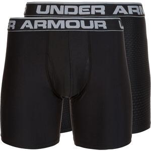 HeatGear Original Boxerjock Boxershort 2er Pack Herren, schwarz / grau, zoom bei OUTFITTER Online