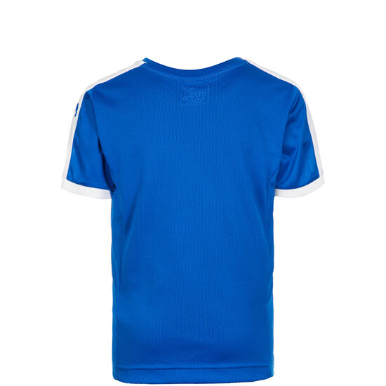 Pitch Fußballtrikot Kinder, blau / weiß, zoom bei OUTFITTER Online