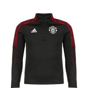 Manchester United Trainingssweat Kinder, schwarz / rot, zoom bei OUTFITTER Online