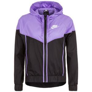 Sportswear Windrunner Damen, schwarz / lila, zoom bei OUTFITTER Online