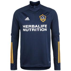LA Galaxy Trainingssweat Herren, dunkelblau / dunkelgelb, zoom bei OUTFITTER Online