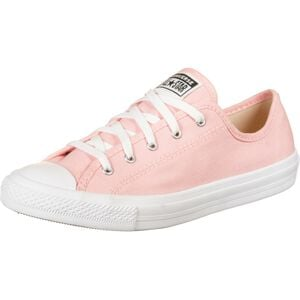 Chuck Taylor All Star Dainty OX Sneaker Damen, rosa / weiß, zoom bei OUTFITTER Online