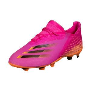 X Ghosted.1 FG Fußballschuh Kinder, pink / orange, zoom bei OUTFITTER Online