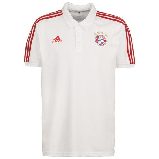 FC Bayern München 3S Poloshirt Herren, weiß / rot, zoom bei OUTFITTER Online