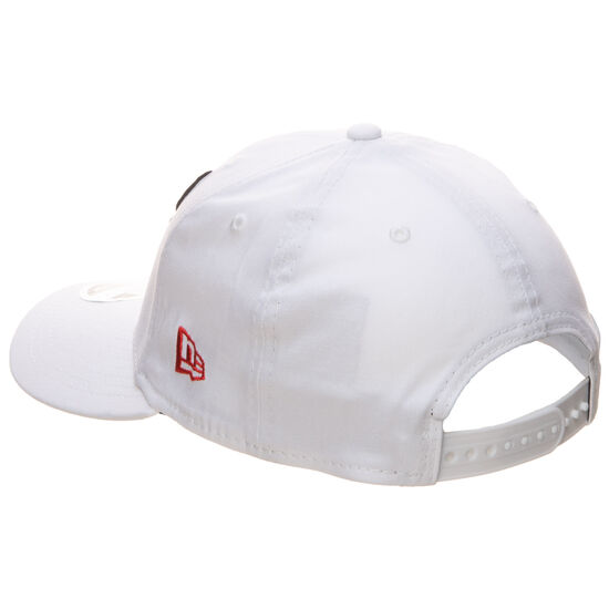 9FIFTY NBA White Base Chicago Bucks Cap, weiß / rot, zoom bei OUTFITTER Online