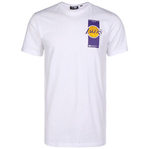 NBA Repeat Back Logo Los Angeles Lakers T-Shirt Herren, weiß, zoom bei OUTFITTER Online