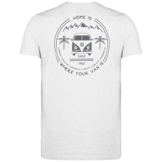 Home Is T-Shirt Herren, hellgrau / anthrazit, zoom bei OUTFITTER Online