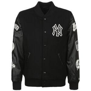 MLB New York Yankees Heritage Varsity Jacke Herren, schwarz / weiß, zoom bei OUTFITTER Online