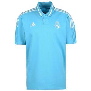 Real Madrid Poloshirt Herren, türkis / weiß, zoom bei OUTFITTER Online