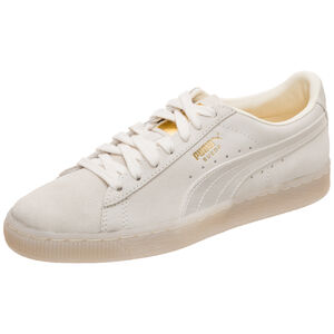 Suede Classic Satin Sneaker Damen, Beige, zoom bei OUTFITTER Online