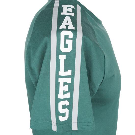 NFL Philadelphia Eagles Shoulder Print T-Shirt Herren, petrol, zoom bei OUTFITTER Online