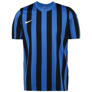 Striped Division IV Fußballtrikot Herren, blau / schwarz, zoom bei OUTFITTER Online