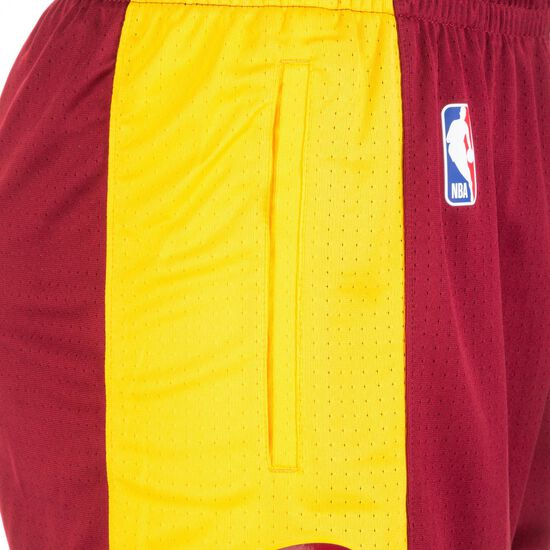 Cavaliers NBA Basketballshort Herren, rot / gold, zoom bei OUTFITTER Online
