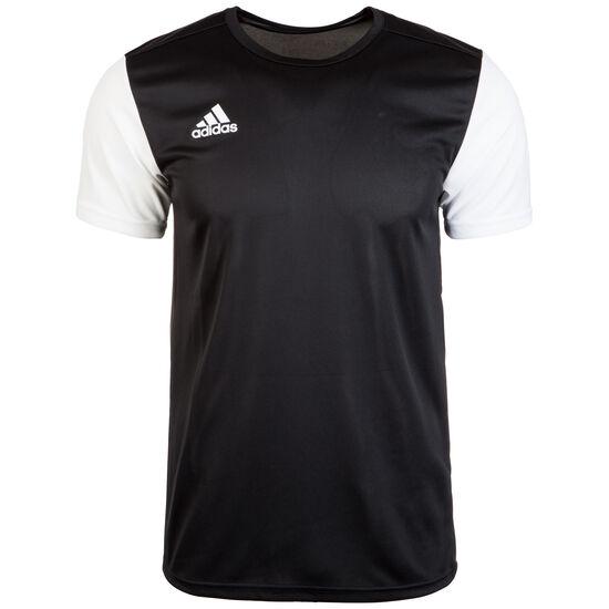 Estro 19 Fußballtrikot Herren, schwarz / weiß, zoom bei OUTFITTER Online