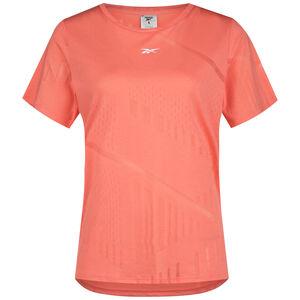 Burnout Trainingsshirt Damen, korall / weiß, zoom bei OUTFITTER Online