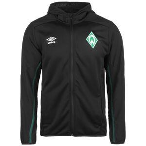 SV Werder Bremen Kapuzenjacke Herren, schwarz / dunkelgrün, zoom bei OUTFITTER Online