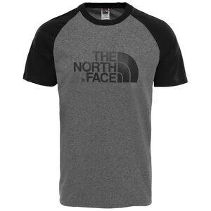 Raglan Easy T-Shirt Herren, grau / schwarz, zoom bei OUTFITTER Online