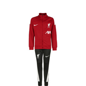 FC Liverpool Academy Pro Trainingsanzug Kinder, rot / anthrazit, zoom bei OUTFITTER Online