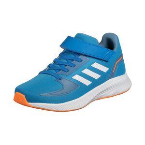 Runfalcon 2.0 Laufschuh Kinder, blau / orange, zoom bei OUTFITTER Online