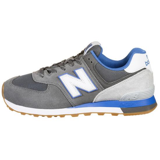 ML574-D Sneaker Herren, grau / blau, zoom bei OUTFITTER Online
