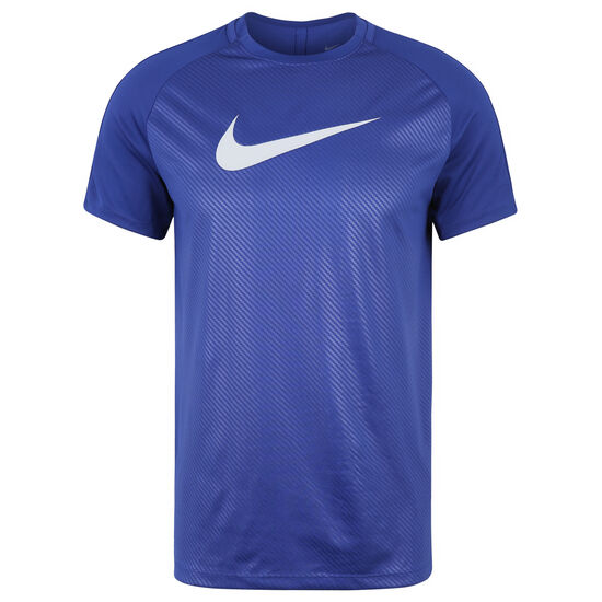 Dry Academy GX2 Trainingsshirt Herren, blau / grau, zoom bei OUTFITTER Online