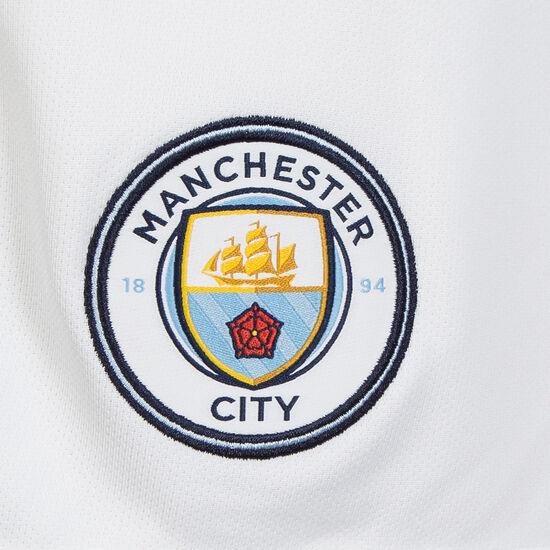 Manchester City Short Home Stadium 2017/2018 Herren, Weiß, zoom bei OUTFITTER Online