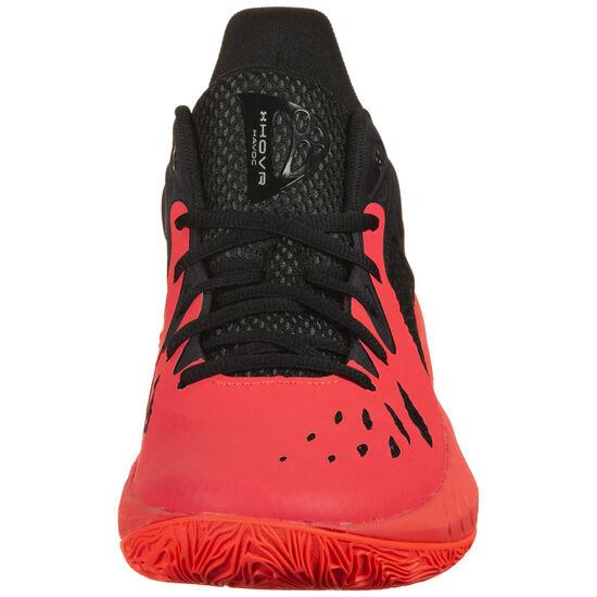 HOVR Havoc 3 Basketballschuh Herren, neonrot / schwarz, zoom bei OUTFITTER Online