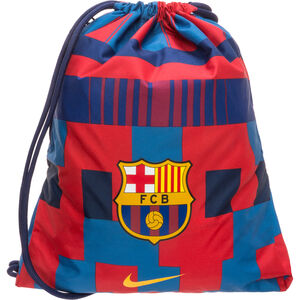 FC Barcelona Stadium Football Turnbeutel, rot / blau, zoom bei OUTFITTER Online
