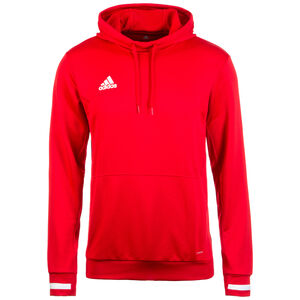 Team19 Trainingskapuzenpullover Herren, rot / weiß, zoom bei OUTFITTER Online