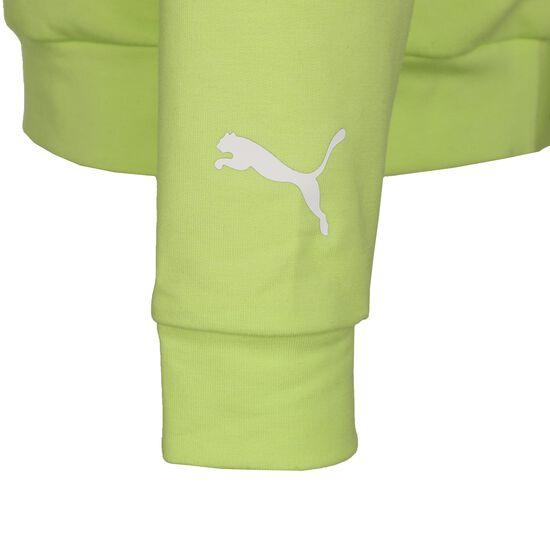 Modern Sports Kapuzenpullover Kinder, neongrün, zoom bei OUTFITTER Online