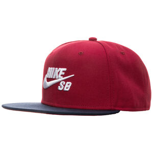 SB Icon Snapback Cap, rot / dunkelblau, zoom bei OUTFITTER Online