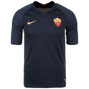 AS Rom Dry Strike Trainingsshirt Herren, dunkelblau / gelb, zoom bei OUTFITTER Online