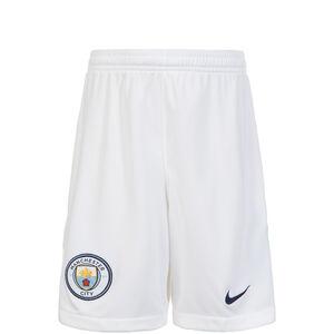 Manchester City Short Home Stadium 2017/2018 Kinder, Weiß, zoom bei OUTFITTER Online