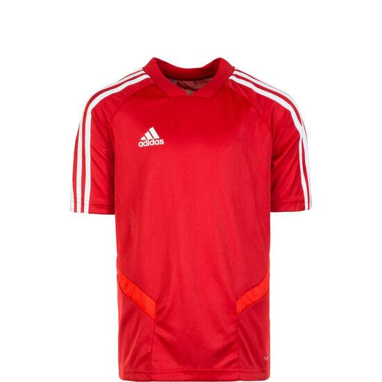 Tiro 19 Trainingsshirt Kinder, rot / weiß, zoom bei OUTFITTER Online