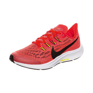 Air Zoom Pegasus 36 Laufschuh Kinder, rot / schwarz, zoom bei OUTFITTER Online