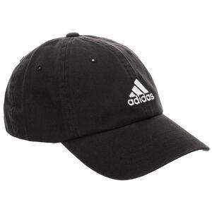 Dad Strapback Cap, schwarz / weiß, zoom bei OUTFITTER Online
