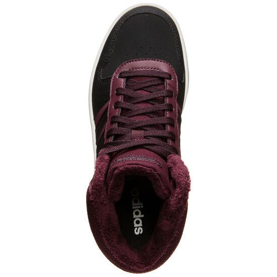 Hoops Mid 2.0 Sneaker Damen, bordeaux / weiß, zoom bei OUTFITTER Online