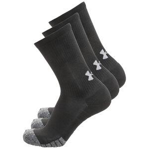 HeatGear Crew Socken 3er Pack, schwarz, zoom bei OUTFITTER Online