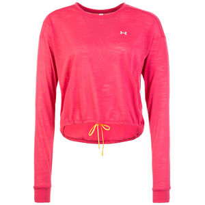 Whisperlight Cropped Cover Up Trainingsshirt Damen, pink, zoom bei OUTFITTER Online