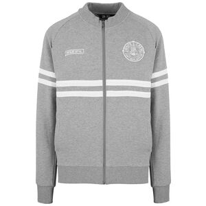 DMWU Cotton Trainingsjacke Herren, grau / weiß, zoom bei OUTFITTER Online